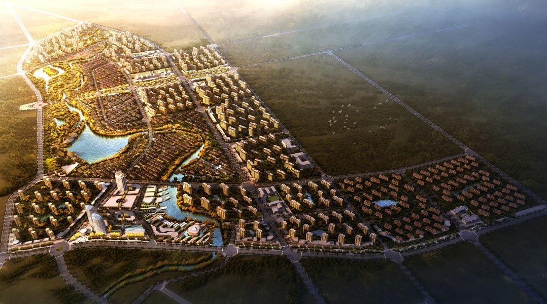 Bohai Innovation City Masterplan