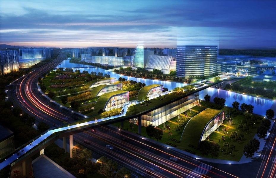 Masterplan and Landscape Hangzhou, Zhejiang Province, China, 2011