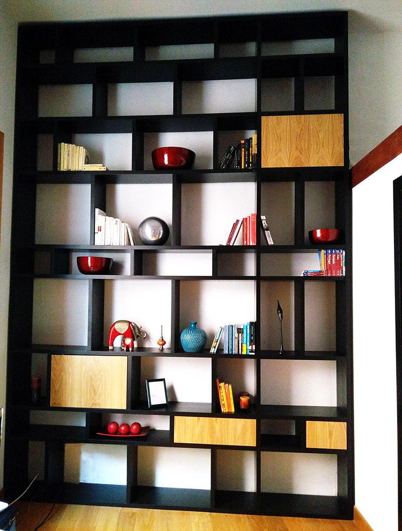 The Wall _librería / book storage