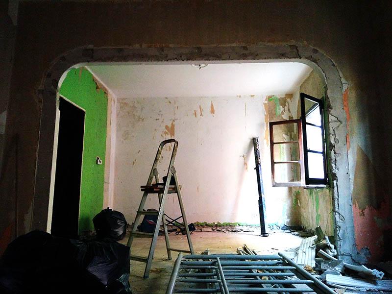 Reforma vivienda en Mesa y López