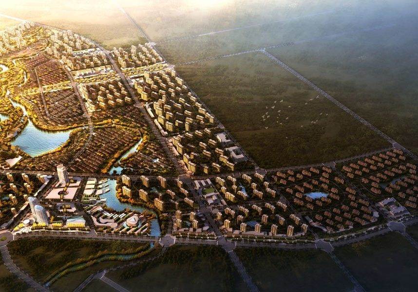 Bohai Innovation City Masterplan